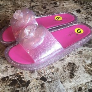 Kate Spade Sandels Sandals Flip Flops pink Size 9